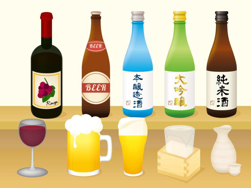 醸造酒(ワイン・ビール・日本酒)