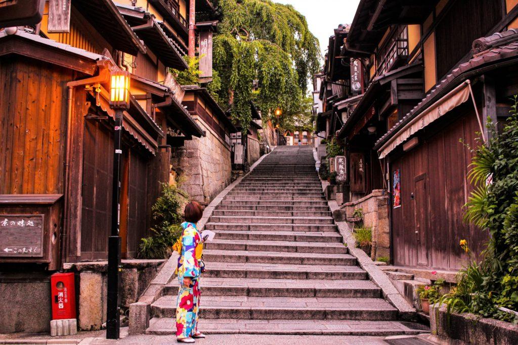 着物美女と京都5